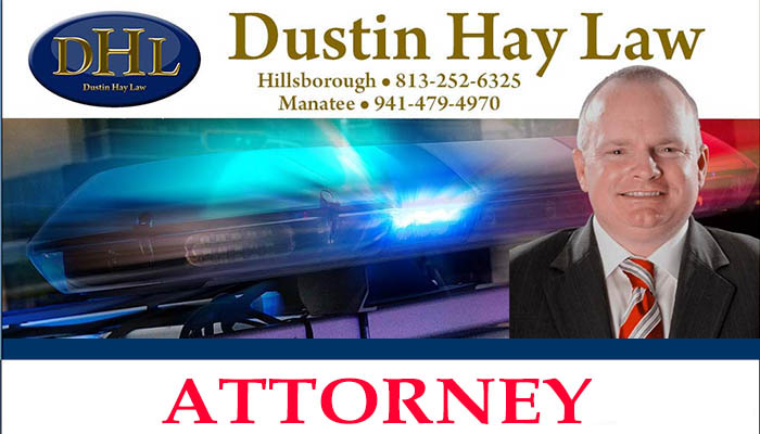 Attorney Dustin Hay with Law Offices in Tampa and Ellenton