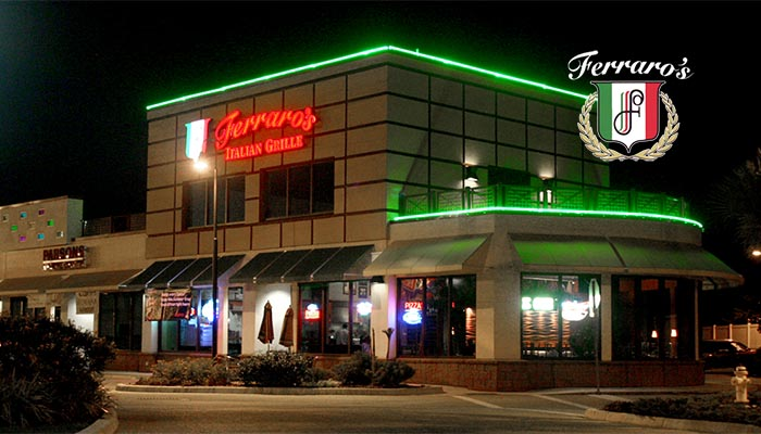 Ferraros Italian Grille has the BEST Pizza south of New Jersey!