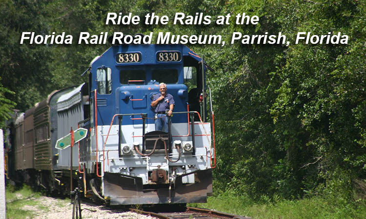 The Florida Rail Road Museum is in Parrish Florida